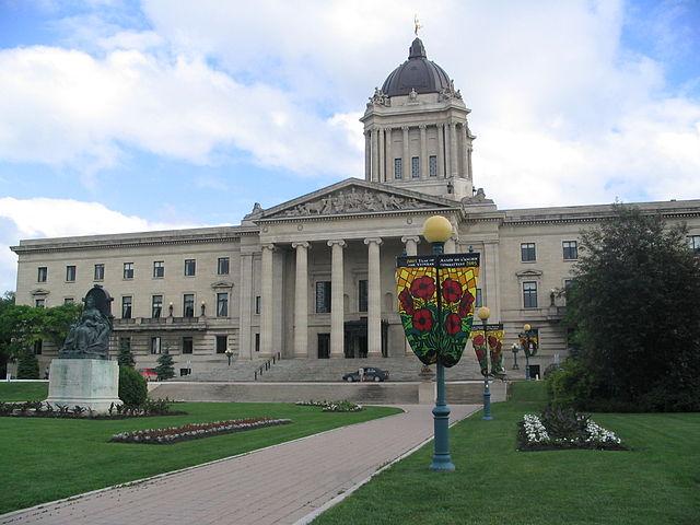 Parlamento di Winnipeg Manitoba